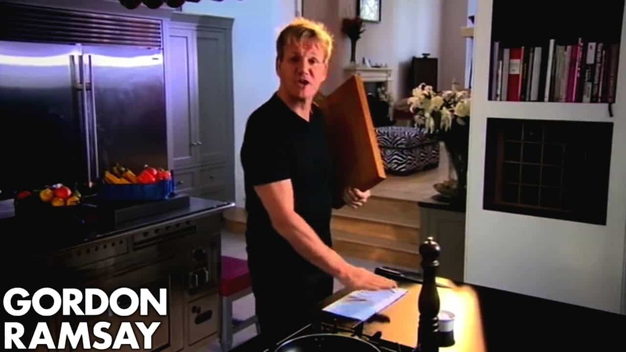 gordon ramsay's kitchen kit | what you need to be