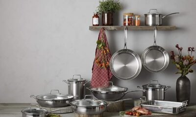 save up to 65% on frying pans, woks and pots