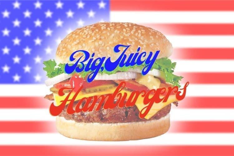 big, juicy hamburgers memorial day weekend
